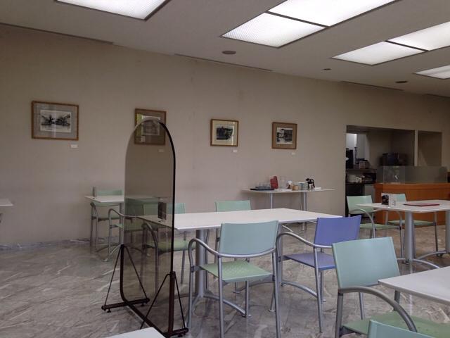 喫茶室内の雰囲気