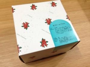 クリスマスケーキ「生クリーム15cm」の箱