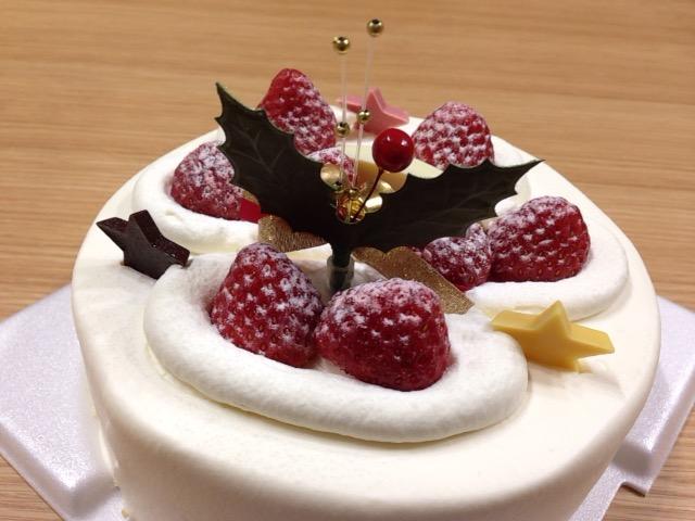 ケーキの裏側