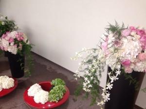 綺麗なお花も・・・