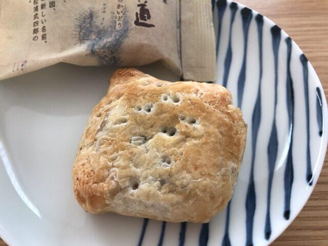 つぶ餡入りのパイです
