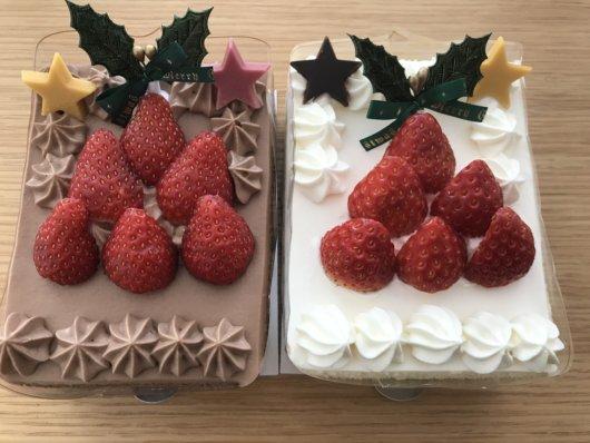 2種類のツリーケーキ